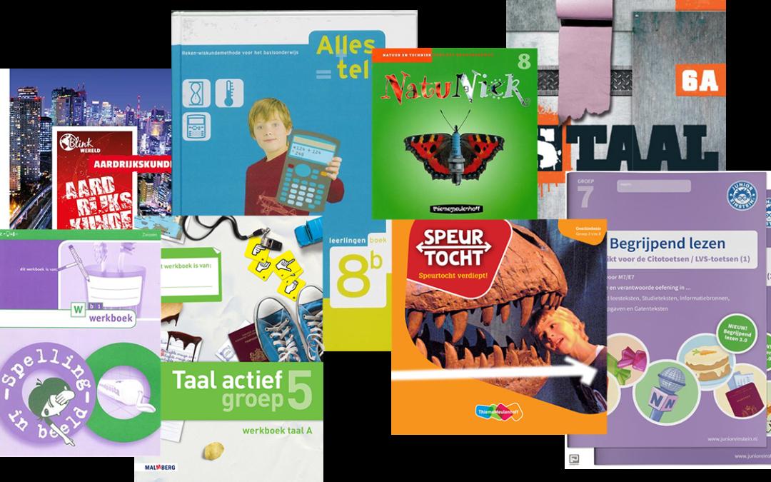 Methodeboeken gezocht voor basisschool en voortgezet onderwijs